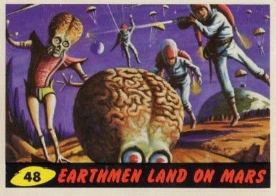 Mars Attacks ! - Norman Saunders 1962 (48)
