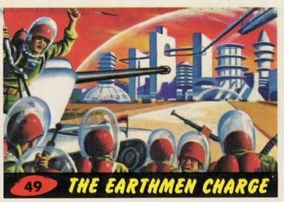 Mars Attacks ! - Norman Saunders 1962 (49)