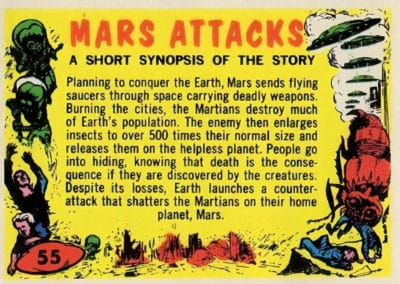 Mars Attacks ! - Norman Saunders 1962 (55)