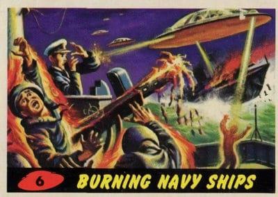 Mars Attacks ! - Norman Saunders 1962 (6)