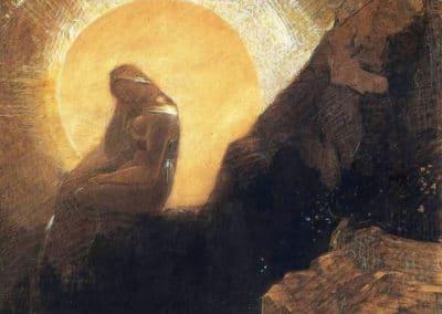 Melancolie - Odilon Redon (1876)