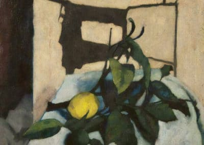 Nature morte au citron - Felice Casorati (1937)