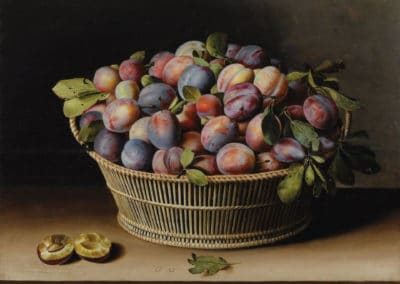 Nature morte aux prunes - Louise Moillon (1629)