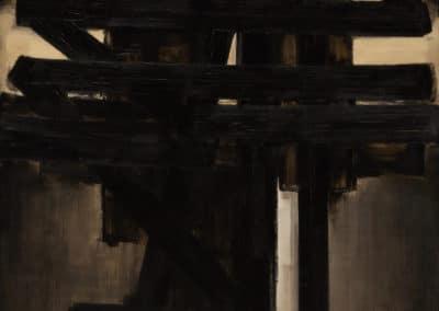 Peinture - Pierre Soulages (1953)