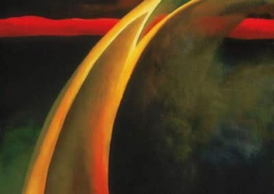 Red & orange streak - Georgia O'Keeffe (1919)