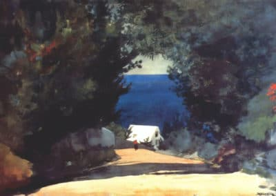 Road in Bermuda - Winslow Homer (1899)