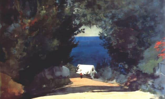 Lentement, dans la clarté lunaire – Fernando Pessoa