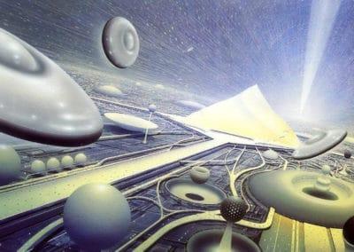 Science-fiction - Jim Burns 1970 (13)