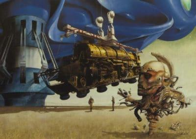 Science-fiction - Jim Burns 1970 (26)
