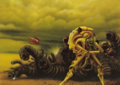 Science-fiction - Jim Burns 1970 (28)