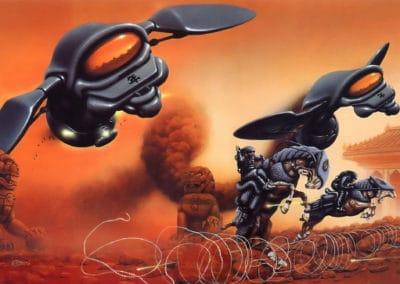 Science-fiction - Jim Burns 1970 (35)