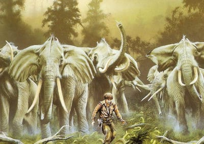 Science-fiction - Jim Burns 1970 (38)