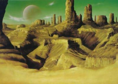 Science-fiction - Jim Burns 1970 (5)