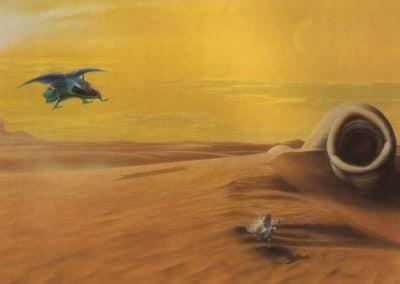 Science-fiction - Jim Burns 1970 (8)