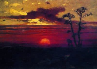 Sunset - Arkhip Kuindzhi (1894)