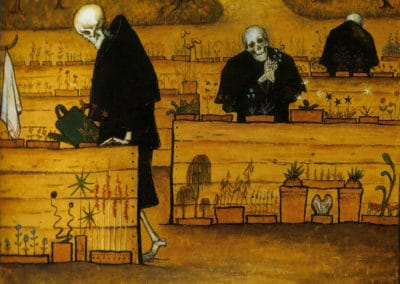The garden of death - Hugo Simberg (1896)