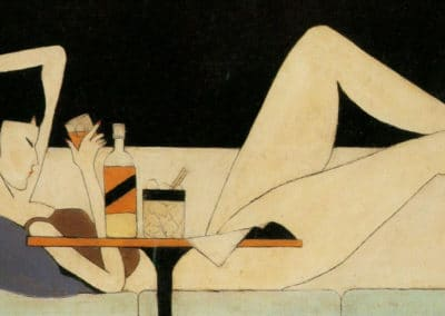 The girl on the couch - Pang Xunqin (1930)
