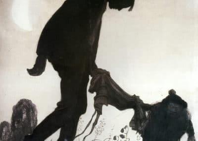 Trolls et forêts maléfiques du Nord - John Bauer 1910 (10)