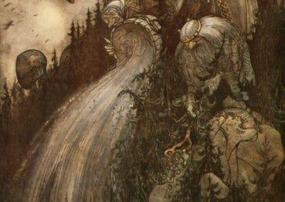 Trolls et forêts maléfiques du Nord - John Bauer 1910 (11)