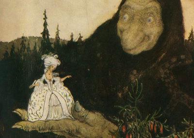 Trolls et forêts maléfiques du Nord - John Bauer 1910 (12)