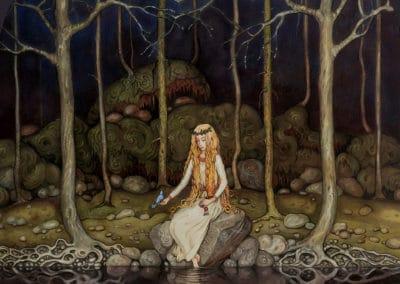 Trolls et forêts maléfiques du Nord - John Bauer 1910 (13)