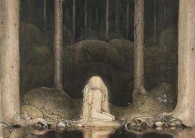 Trolls et forêts maléfiques du Nord - John Bauer 1910 (16)