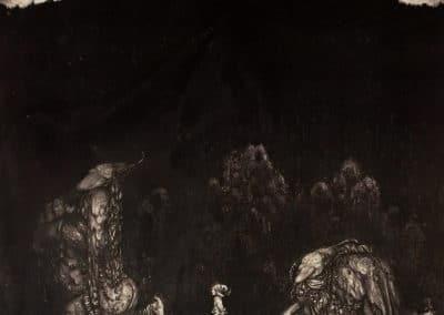 Trolls et forêts maléfiques du Nord - John Bauer 1910 (18)