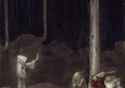 Trolls et forêts maléfiques du Nord - John Bauer 1910 (19)