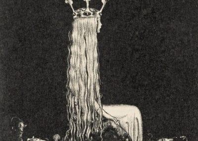Trolls et forêts maléfiques du Nord - John Bauer 1910 (20)