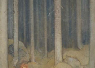 Trolls et forêts maléfiques du Nord - John Bauer 1910 (21)