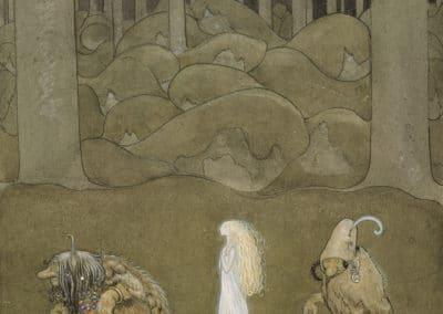 Trolls et forêts maléfiques du Nord - John Bauer 1910 (22)