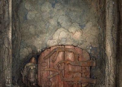 Trolls et forêts maléfiques du Nord - John Bauer 1910 (3)