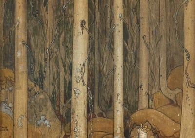 Trolls et forêts maléfiques du Nord - John Bauer 1910 (32)
