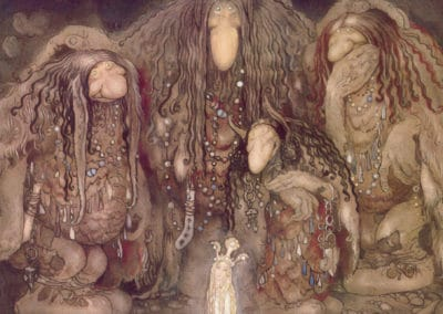 Trolls et forêts maléfiques du Nord - John Bauer 1910 (33)