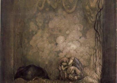 Trolls et forêts maléfiques du Nord - John Bauer 1910 (37)