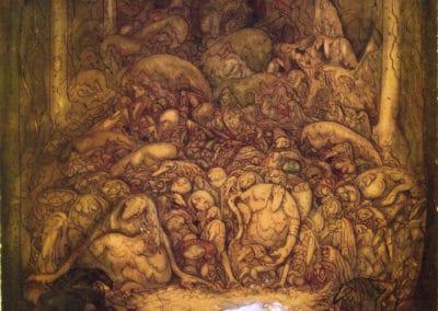 Trolls et forêts maléfiques du Nord - John Bauer 1910 (38)