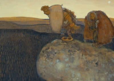 Trolls et forêts maléfiques du Nord - John Bauer 1910 (41)
