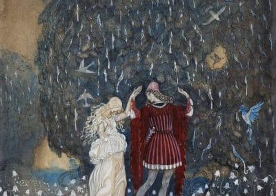 Trolls et forêts maléfiques du Nord - John Bauer 1910 (7)