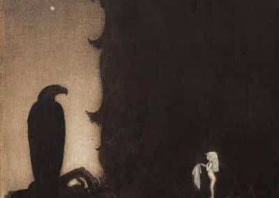 Trolls et forêts maléfiques du Nord - John Bauer 1910 (8)