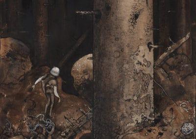 Trolls et forêts maléfiques du Nord - John Bauer 1910 (9)
