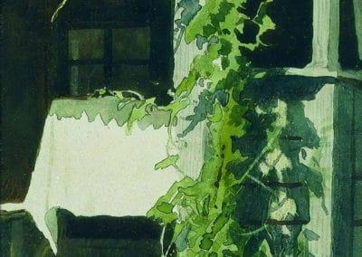 Veranda - Ivan Kramskoy (1897)