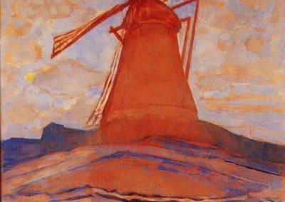 Windmill - Piet Mondrian (1917)