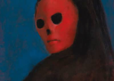 le masque de la mort rouge - Leonor Fini (1987)