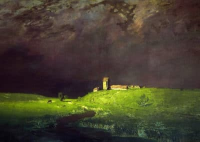 After the rain - Arkhip Ivanovich Kuindzhi (1879)