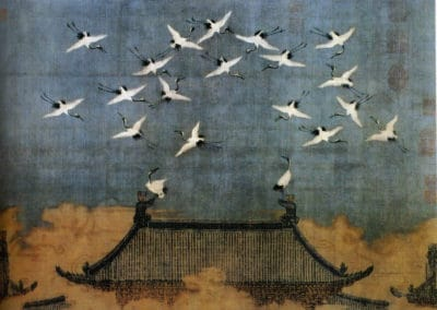 Auspicious cranes - Huizhong of song (1112)