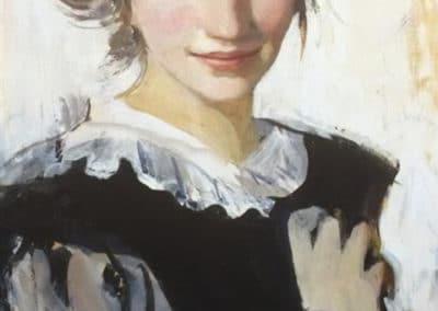 Autoportrait - Zinaida Serebriakova (1907)
