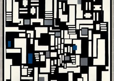 Composition IX, opus 18 - Theo van Doesburg (1917)