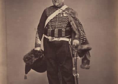 Delignon, Maréchal des Logis Chef - Sergent Majeur à cheval de la Garde Imperiale (1815)