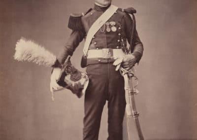 Dreuse - 2ème garde lanciers - 2ème chevaux légers - lancier de la Garde Impériale (1813)
