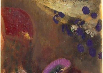 Fleurs étranges - Odilon Redon (1910)